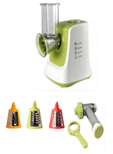 multi functional vegetable and fruit ice cream machine and spiral slicer salad maker 2 in 1