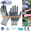 NMSAFETY 13 gauge Seamless Knitted Nitrile Working Gloves/Safety Knitted gloves/Nitrilegloves