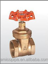 Amico Bronze Gate Valve Manufacturer/OEM Customized Brass Valve