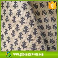 Colorful PP Spunbonded Nonwoven fabric/TNT in rolls, printed nonwoven fabric