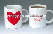 Printing your logo amazing color change mugs angel wedding gifts souvenirs/ baby shower souvenir gifts