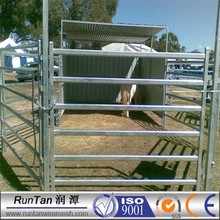 certificated cheap galvanized metal horse fence panel (ISO9001)