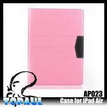 Light color flip kids portable case for ipad air