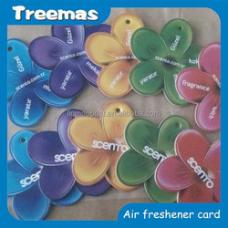 Hanging Paper Car Air Freshener, Car Scent Card