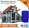 High efficiency three layer DDSJ300x3 hdpe blow molding machine