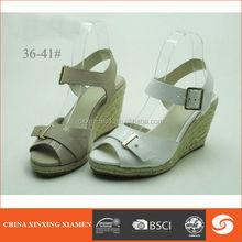 2015 wedge heel shoes peep toe snakeskin
