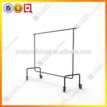 removevable rack abbigliamento rack negozio usato per la vendita