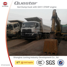 Nissan UD quester 6x4 heavy construction site tipper truck for sale/dump truck for sale