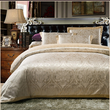 1800 thread count double size and cal-king jacquard woven cotton duvet covers