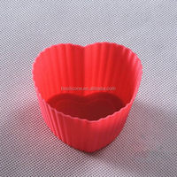 Top quality new arrival silicone square shape mini cake cup