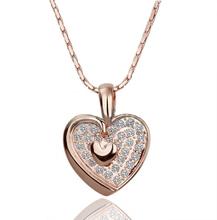 Heart Shape Pendant Fashion Accessories for Women