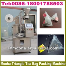 nylon pyramid tea bag packing machine with envelop (CE certificate,MANUFACTURER LOW PRICE)