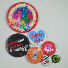 New promotional gift-tinp badge button for 2012
