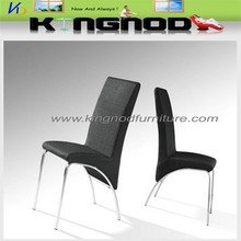 white and black pupular pu uphostered dining chairs manufacturer in China