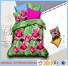 Plain Style high quantity 3d 100% polyester fbric for beding set/ custom printed bed sheets
