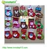 2015s' cheap promotion items christmas stocking, hanging mini felt christmas stocking