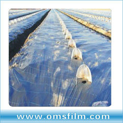 Co-extruded plastic mulching