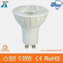 commercial and project used 2014 ceramic 6w led spotlight gu10