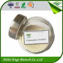 Novel insecticide /acaridice Clothianidin WDG 25% 50%, sucking pest killer, pesticide