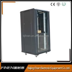 Electric Floor Standing Network Rack Cabinet with Castors