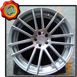 Aluminum car 18 alloy wheels & rims deep machined lip130