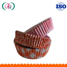 Baking Cake cups High Temperature Resistant Round Shape cupcake liners PET Coated Paper