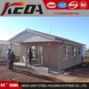 Disaster Relief Steel Prefabricated Wooden / Concrete House in Low Cost for sale