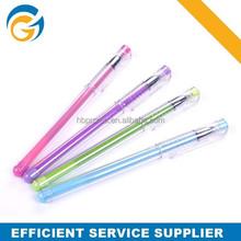 0.5mm 0.7mm Promotional Feature Glitter Gel Ink Pen