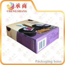 Manufacturer customized colorful cosmetic paper box for packaging