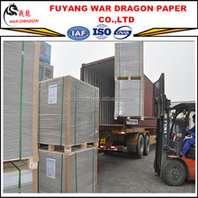 400gsm Grade AAA C1S recycled duplex board paper in sheets