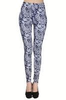 Womens Colorful Digital Print Stylish Dancer Leggings Tight Pants latex rubber leggings
