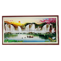 New Product Fashion Special Offer Full Embroidery Cross Stitch Landscape DIY Needlework Scenic Painting Kit Home Decor