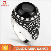 costume s925 silver china cz rings jewelry for men