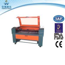 Huahai laser co2 paper screen protector laser cutting machine