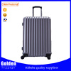high quality ABS PC material trolley suitcase fashion style light weight travel suitcase for men and women