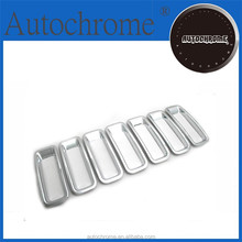 Business gift chrome car trim accent styling Chrome Grille Insert Trim - for Jeep Patriot 11-13