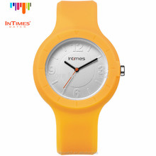 Fashion Watch Women Silicone Jelly Watch Interchangeable plastic case Stainless Steel Back Quartz Wrist Watch InTimes IT-092