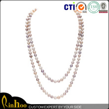Popular In Europe And America Fashion Natural Pearl Necklace For Womens Design, Top Sale Latest Design Pearl Necklace