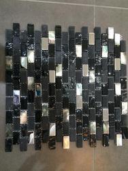 Excellent quality most popular glass mosaic decor