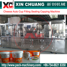 automatic yogurt cup fill and seal machine