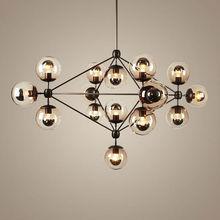 Sputnik Industrial Edison Bulbs Pendant Lamp modern chandelier for high ceilings jason miller modo