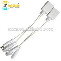 PoE Passive Injector Splitter Cable Power Over Ethernet cable for Non-PoE IP Camera Acess Point