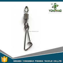 Diamond impressed rolling swivel with hooked snap fishing tackle