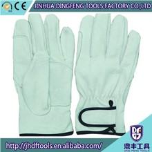 """10.5"""" Cowskin Welding Gloves Welding Metal Safety Work Gloves Short Style"""