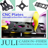 customize carbon fiber RC frame plate, carbon fiber R/C mounting plate