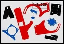 Weldon hot decorative punched aluminum sheet metal forming welding work