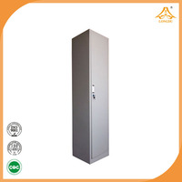 factory direct sell cheap metal one door wardrobes with dressing table with high quality made in china