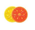 havuz meyve dilim şamandıra eğlence adası kireç limon portakal
