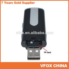 16GB* HD1280x960 U10 USB 2.0 Flash Drive Spy Camera Recorder Covert DVR Gadget