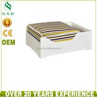 wholesale luxury pet bed for dog , new design wooden frame pet dog bed
